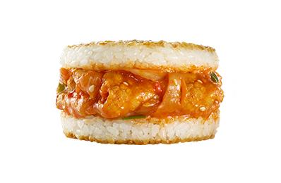 TOMMI湯米 泡菜豬肉米漢堡(1入)
