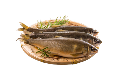 台灣黃金香魚(帶卵/特大)620g/3尾 3包組