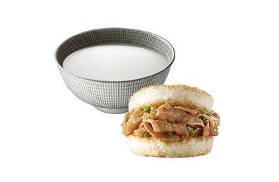 傳統杏仁露(5入)+TOMMI湯米米堡三風味組(牛肉、豬肉、杏鮑菇)