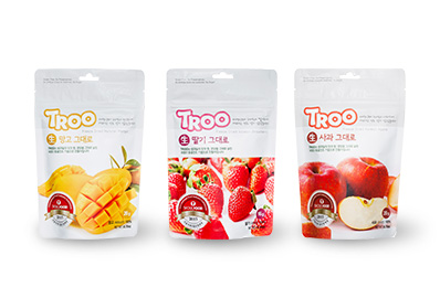 韓國TROO鮮果乾脆片-3口味組
