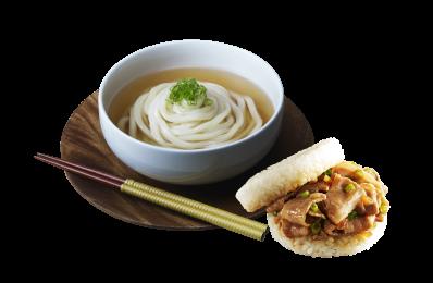 珍米堡(10入)+熬湯麵(6人份)