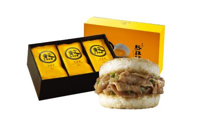 熬雞精(15入)+薑燒豬肉米堡(3入)5盒