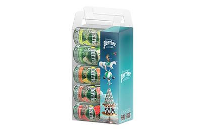 法國Perrier沛綠雅氣泡水-驚奇馬戲團組 買4盒送1盒