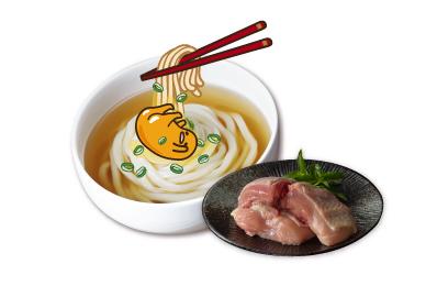 蛋黃哥熬湯麵(6人份)+台灣土雞腿肉(去骨切塊)