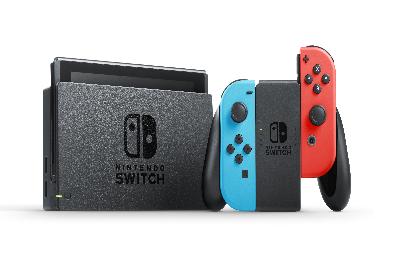 Nintendo Switch(電力加強版)_到貨後七天內另配送/拆封不可退貨
