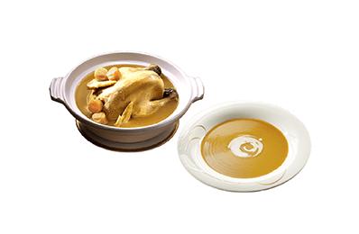 干貝熬雞湯+波士頓龍蝦濃湯(4入)
