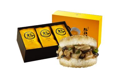 熬雞精(15入)+三杯杏鮑菇米堡(3入)5盒