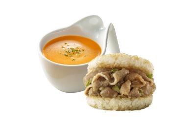 波士頓龍蝦濃湯(6入)+壽喜燒牛肉米堡(3入)2盒